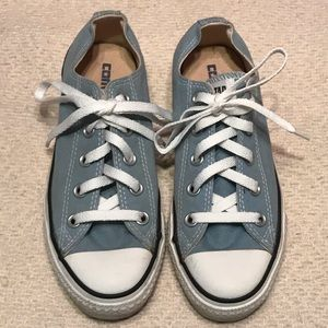 Converse All Star Blue Classic Low Top Sneakers 6